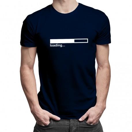 Loading... - Pánske a dámske tričko s potlačou