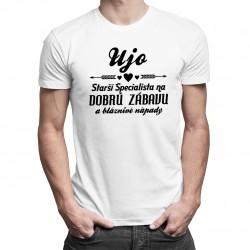 Ujo - starší špecialista - Pánske tričko s potlačou