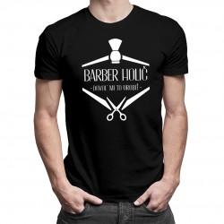 Barber holič - dovoľ mi to urobiť - Pánske tričko s potlačou