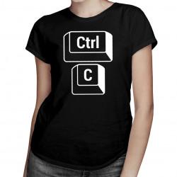 CTRL + C mama -Dámske tričko s potlačou