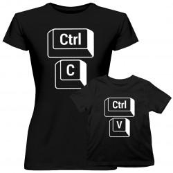 Ctrl+C Ctrl+V - tričko pre mamu a dceru