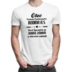 Otec - predseda predstavenstva Rodina a.s. - Pánske tričko s potlačou