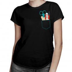 Vrecko sestričky - dámske tričko s potlačou