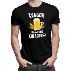 Švagor - máš jedno chladené? - pánske tričko s potlačou
