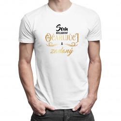 Som inteligentný, očarujúci a zadaný - pánske tričko s potlačou
