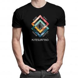 Kitesurfing - Pánske a dámske tričko s potlačou