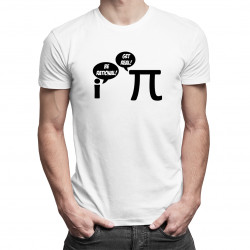Be Rational/Get Real - Pánske a dámske tričko s potlačou