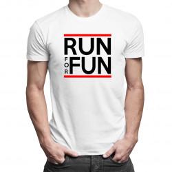Run For Fun - Pánske a dámske tričko s potlačou