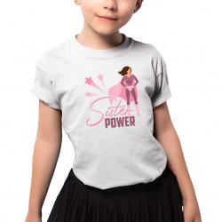 Sister power - detské tričko s potlačou