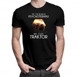 Mne stačí traktor - pánske tričko s potlačou