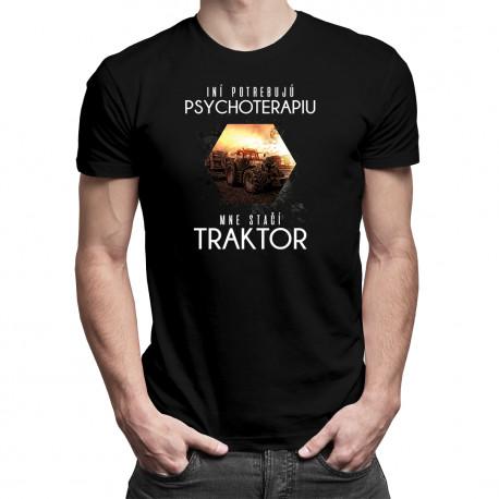 Mne stačí traktor - pánske a dámske tričko s potlačou