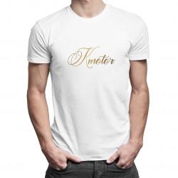 Kmotor - pánske tričko s potlačou