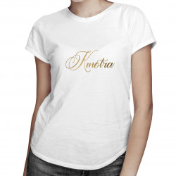 Kmotra- detské tričko s potlačou