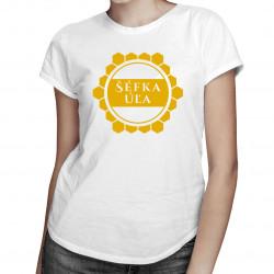 Šéfka úľa - dámske tričko s potlačou