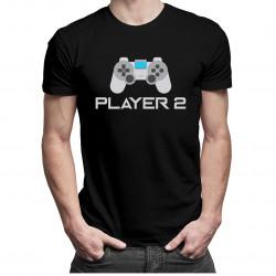 Player 2 v2 - pánske a dámske tričko s potlačou