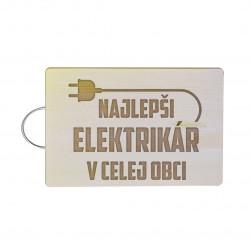 Najlepší elektrikár v celej obci - doska na krájanie