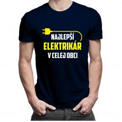 Najlepší elektrikár v celej obci - Pánske tričko s potlačou