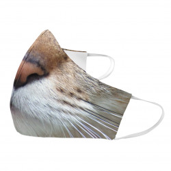 Mačka - ochranné rúška s potlačou