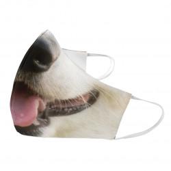 Pes - ochranné rúška s potlačou