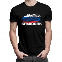 Kamioňák - pánske tričko s potlačou