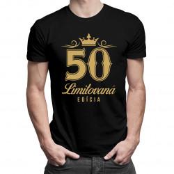 50 rokov - limitovaná edícia - pánske a dámske tričko s potlačou