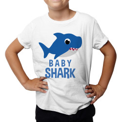 Baby shark - detské tričko s potlačou