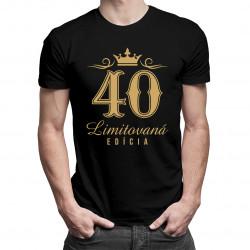 40 rokov - Limitovaná edícia - pánske tričko s potlačou