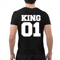 KING 01 - pánske tričko s potlačou