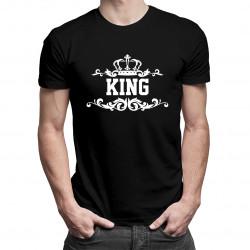 KING - pánske tričko s potlačou