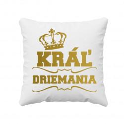 Kráľ driemania - vankúš s potlačou