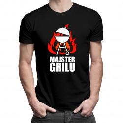 Majster grilu - pánske tričko s potlačou