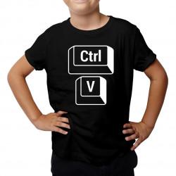 CTRL+V - syn - detské tričko s potlačou