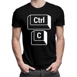 CTRL+C - otec - pánske tričko s potlačou