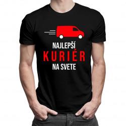 Najlepší kuriér na svete - pánske tričko s potlačou