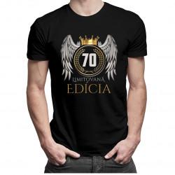 Limitovaná edícia 70rokov - pánske a dámske tričko s potlačou