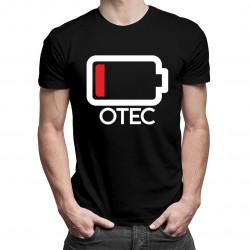 Batérie - otec - pánske tričko s potlačou