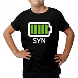 Batérie - syn - detské tričko s potlačou