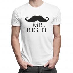Mr. Right - pánske tričko s potlačou