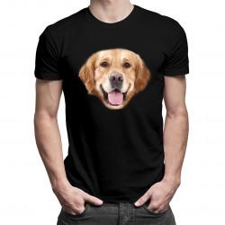 Golden retriever - pánske tričko s potlačou