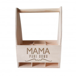 Mama pani domu - drevený nosič