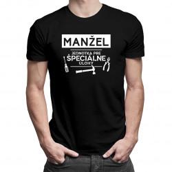 Manžel - jednotka pre špeciálne úlohy - pánske tričko s potlačou