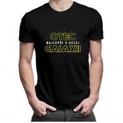 Najlepší otec v celej galaxii - pánske tričko s potlačou