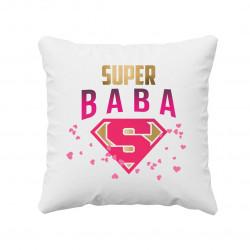 Super baba - vankúš s potlačou