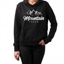 Mountain Lover - Dámska mikina s potlačou