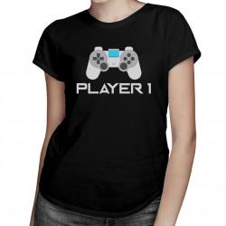 Player 1 v2 - Dámske tričko s potlačou