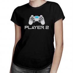 Player 2 v2 - Dámske tričko s potlačou