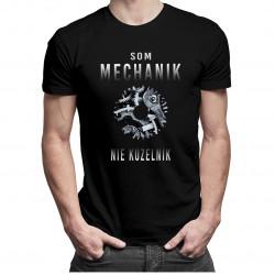Som mechanik, nie kúzelník - pánske tričko s potlačou