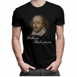 William Shakespeare - pánske tričko s potlačou