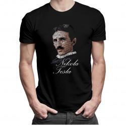 Nikola Tesla - pánske tričko s potlačou