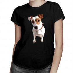 Jack Russell terrier -  dámske tričko s potlačou